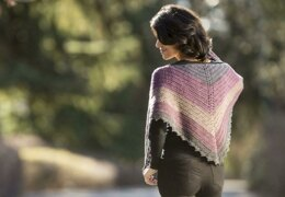 Dark Sky Shawl in Cascade Yarns Whirligig - DK603 - Downloadable PDF