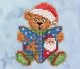 Mill Hill Teddy's Tale Cross Stitch Kit - 2.5in x 3in