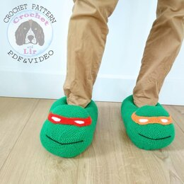 TMNT Turtle Slippers UK terms