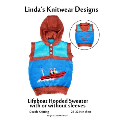 Lifeboat & anchor sweater