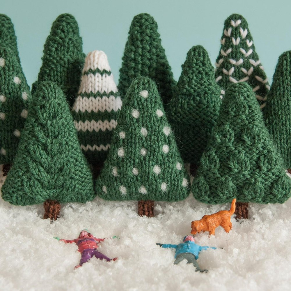 Christmas Trees 2 Knitting pattern by Squibblybups