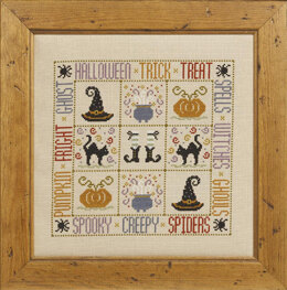 Historical Sampler Company Trick or Treat Cross Stitch Kit