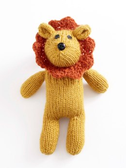Little Lion Brand Sock Critter in Lion Brand Wool-Ease - 90696AD