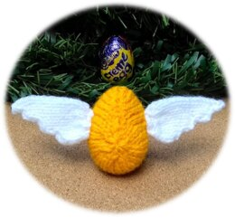 Golden Snitch - Chocolate Egg Cover