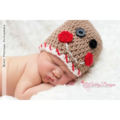 Gingerbread Beanie (Newborn - 10 Years)