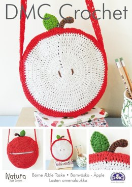 Children's Apple Bag in DMC Natura Just Cotton - 15212L/2