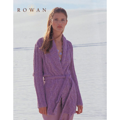 Knitting Patterns For Rowan Summer Tweed : Sea Breeze Cardigan in Rowan Summer Tweed Knitting Patterns LoveKnitting