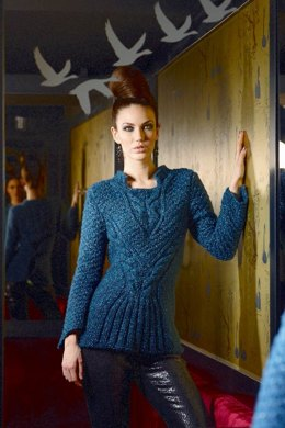 Ladie's Sweater in Schachenmayr Scarlett - 2116