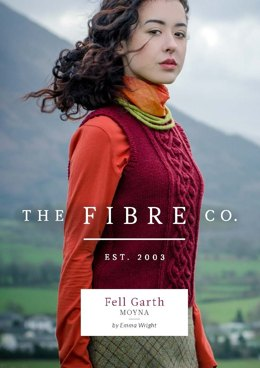 Moyna Trellis Cable Vest in The Fibre Co. Cumbria - Downloadable PDF