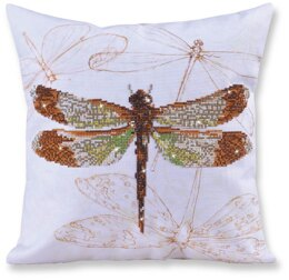 Diamond Dotz Dragonfly Earth Pillow Diamond Painting Kit