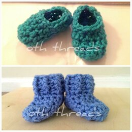 Quick Baby Slippers