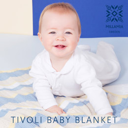 Tivoli Blanket in MillaMia Naturally Soft Cotton - Downloadable PDF