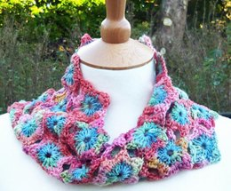 CECILY Crochet Mobius Scarf