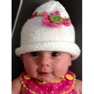 Beau's Fanciful Flower Baby and Toddler Hat