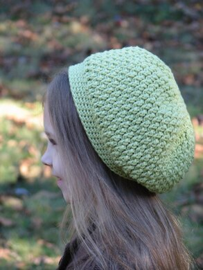 Textured Slouchy Beret