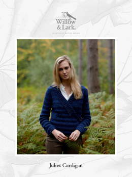 Juliet Cardigan in Willow & Lark Woodland