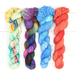Zen Yarn Garden  Quartet Skein Set