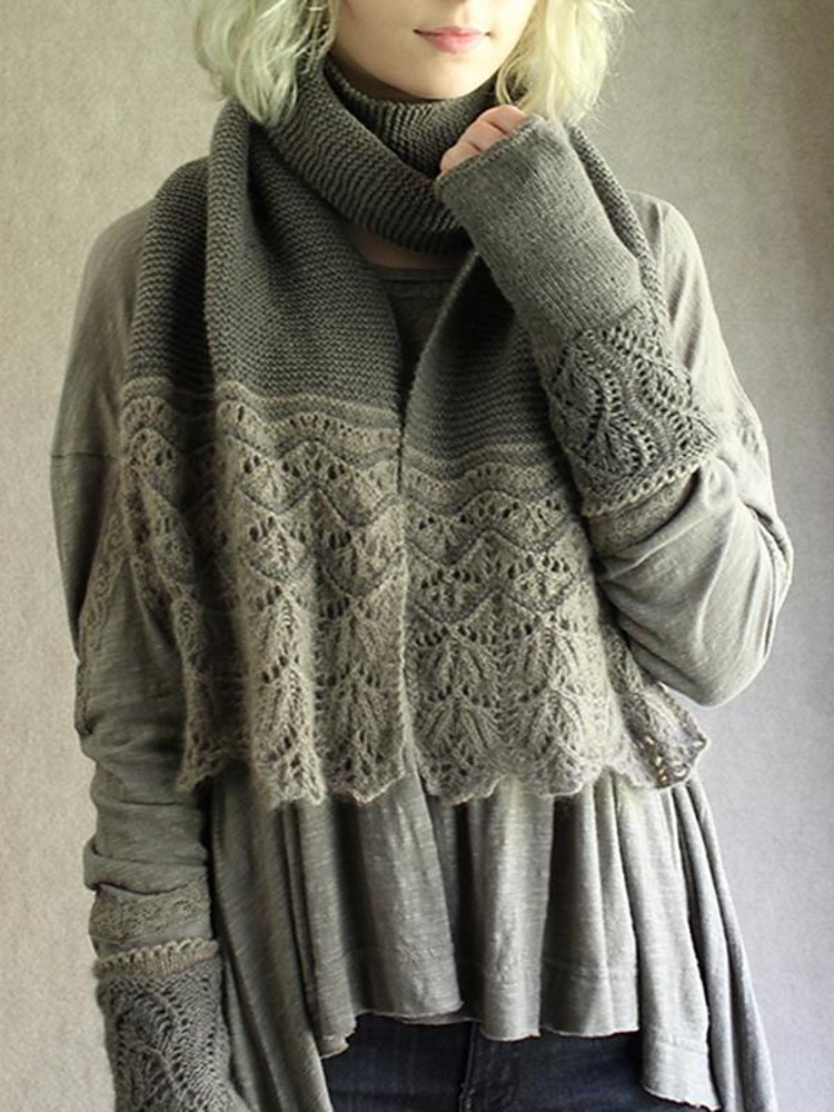 Verduri Knitting Pattern By Carol Sunday