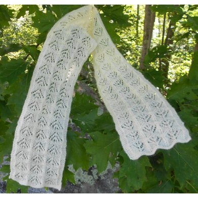 Rippling Candlesticks Scarf