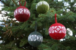 Sanquhar Christmas Ornaments