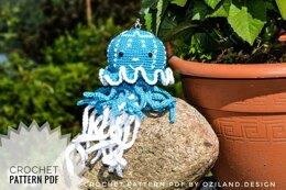 Blue Jellyfish toy
