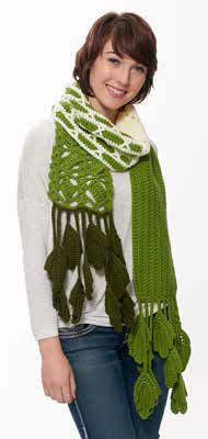 Grass is Greener Adventure Scarf in Caron United - Downloadable PDF