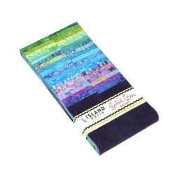 "Island Batiks Jewel Box 2.5"" Strip Roll"