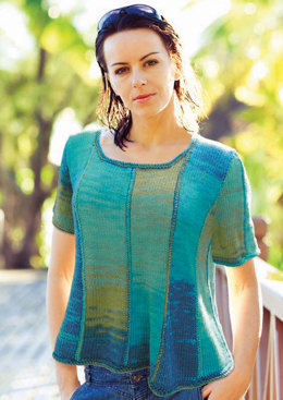 Mermaid Tee in Knit One Crochet Too Ty-Dy - 1734 - Downloadable PDF