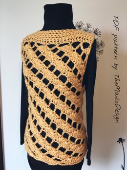 Amely Crochet Sweater