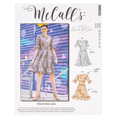 McCall's #BlytheMcCalls - Misses' Dresses M8032 - Sewing Pattern
