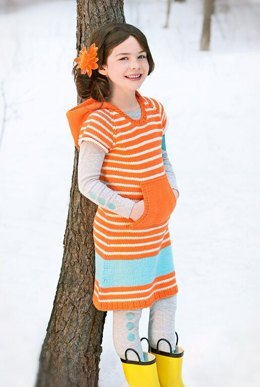 Half-Pint Dress in Spud & Chloe Sweater - 9531