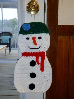 Large Holiday Snowman