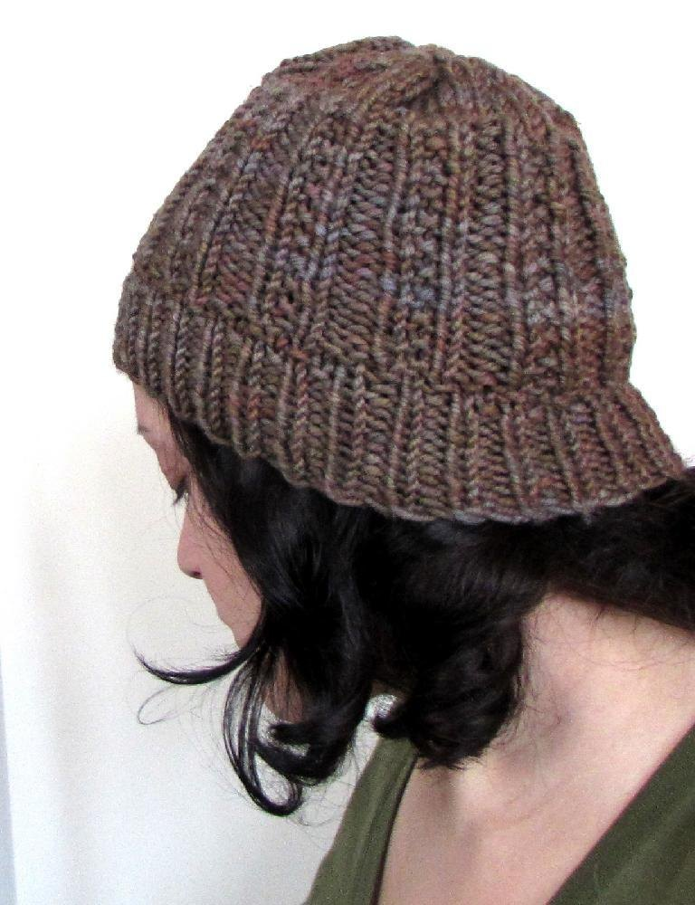 Ribster Beanie Watch Cap Knitting pattern by Melissa Martinez ... b75494e0104