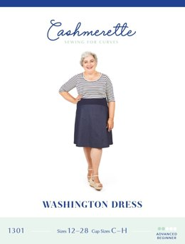Cashmerette Washington Dress 1301 - Sewing Pattern