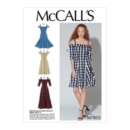 McCall's Misses' Dresses M7805 - Sewing Pattern