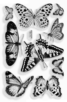 Stampendous Perfectly Clear Stamps - Butterflies