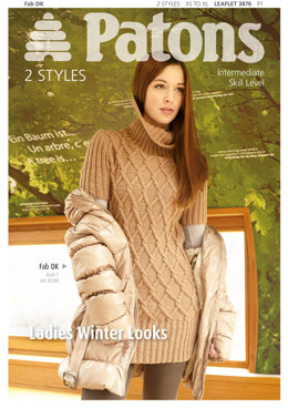 Ladies Winter Looks in Patons Fab DK - 3876