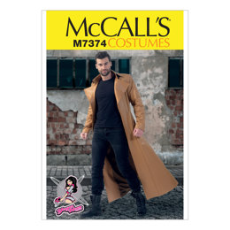 McCall's Collared and Seamed Coats M7374 - Sewing Pattern