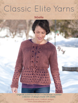 Nöelle Pullover in Classic Elite Yarns Giselle - Downloadable PDF
