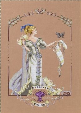 Lady Mirabilia Cross Stitch Chart  - MD158