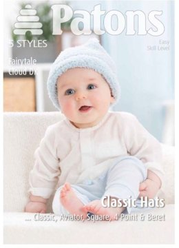 Classic Hat Collection in Patons Fairytale Cloud - 3978