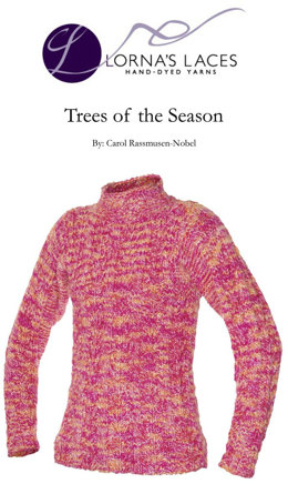Trees of the Season Sweater in Lorna's Laces Shepherd Bulky