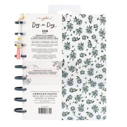 American Crafts Maggie Holmes - Day to Day Freestyle Blue Floral