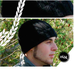 Devins Toque in Hand Maiden 4 Ply Cashmere