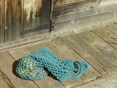 Mesh Market Bag Crochet Pattern By Tracey Todhunter