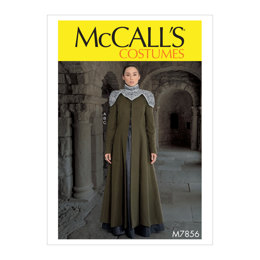 McCall's Misses' Costume M7856 - Sewing Pattern