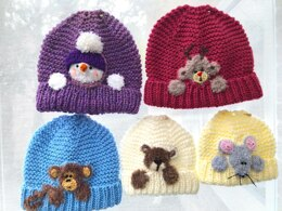 Children's Motif Hats