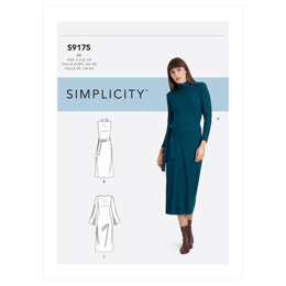 Simplicity Misses' Dress S9175 - Sewing Pattern