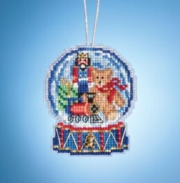 Mill Hill Charmed Snow Globes - Toy Shop Globe
