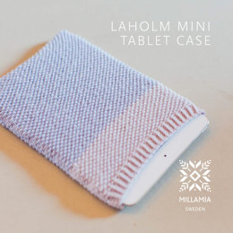 Laholm Mini Tablet Case in MillaMia Naturally Soft Merino - Downloadable PDF